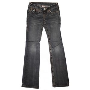 True Religion Gray Acid Billy Skinny Jeans
